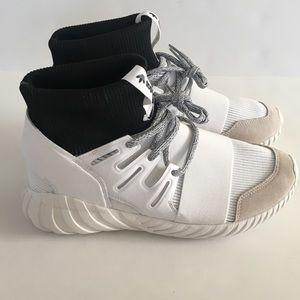 Adidas Tubular Doom Mid Top Athletic Shoes